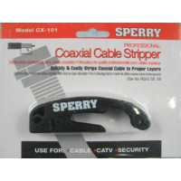 A.W. Sperry - CX-101 | A.W. Sperry CX-101 2 Blade Coaxial Cable Stripper