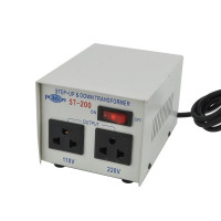 Philmore ST-200 Step Up/Down Transformer,110Vac/220Vac @ 200 watt