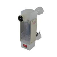 Tokyo Keiso Teflon Purgemeter Flowmeter 2-20 L/min, F04-103606 Gas, Liquid & Vacuum