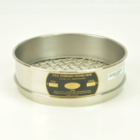 ATM Corp Sieves 12.5mm, ATM Corp Sieve, 200mm Diameter, 12.5mm Openings, Stainless Steel
