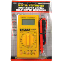 A.W. Sperry DM-360A 2 7 Function Digital Meter/Multimeter (New)