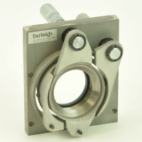 Burleigh 2 inch Optical Gimbal Mount with 25mm Starrett Micrometers