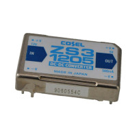 NEW-Surplus Cosel ZS3-1205 DC-DC Converter. 12Vdc input 5Vdc output, 2.5W