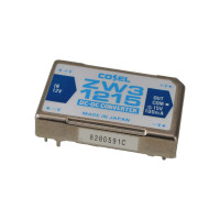 NEW-Surplus Cosel ZW31215 DC to DC Converter 12VDC to +/-15VDC 100ma