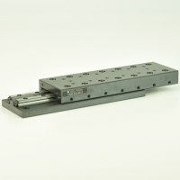 Del Tron 4 inch Travel Crossed Roller Linear Slide/Table, 12 Hole M4 Slides
