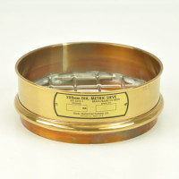 DM CO Sieves 31.5mm, Dual Manufacturing Company Sieve, 200mm Diameter, 31.5mm Openings, Brass
