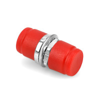 Fiber Optic Adapter FC-FC, Red