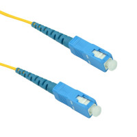 FiberTool - SX-SM-SC-SC-5M | FiberTool Simplex SM SC to SC Patch Cable Fiber Optic Jumper, 5 Meter