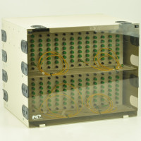 FIS Enclosure with Two 72-port Patch Panels Enclosures
