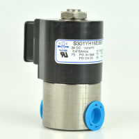 "GC Valves - S301YH16E3BE1 | GC Valves S301YH16E3BE1 1/4"" NPT 2-Way Direct Acting Normally Closed Solenoid"
