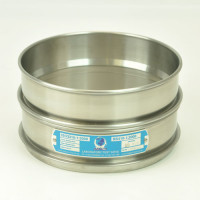 Impact Sieves .08mm, Impact Sieve, 200mm Diameter, .08mm Openings, Stainless Steel