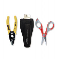 Jonard TK-350 Fiber Optic Kit with Kevlar Cutter Tool Kits