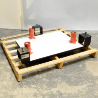 Kinetic Systems - 1208-03-11 | Kinetic Systems Vibraplane 24 x 30 inch Table Top Isolation Platform, 1208-03-11