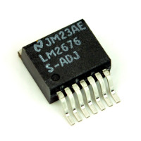 National Semiconductor LM2676 Simple Switcher S-ADJ High Efficiency 3A Step Down Regulator, 65ct