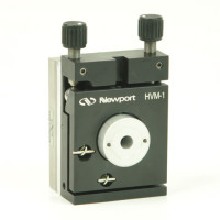 Newport HVM-1 Vertical Drive Kinematic Optical Mount, 1.0 in with Linear Ball Bearing Stage