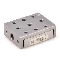 Double-Row Ball Bearing Linear Stage M-UMR3.5, 5 mm , 600 N Load, Metric