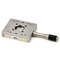 Micro Controle - N/A | Micro-Controle 59mm x 50mm Linear Stage w/ 18mm Travel and Micrometer