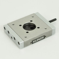 Klinger - MR5.16 | Klinger MR5.16 Micro Controle Linear Stage with Aperture (Screw Driven)