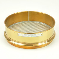 Omnitronix Testing Sieve, 200mm Diameter, 1.7mm/No. 12 Brass