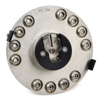 Seiko / Seikoh Giken FC Fiber Optic Plug 12-Port Polishing Puck Jig Fixture, FC-766 Jigs & Holders