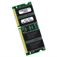 Unigen Corporation - UG48S6446JSH-PL | Unigen 64MB PC100 SO-DIMM SDRAM, UG48S6446JSH-PL
