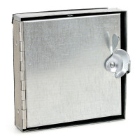 Duct Access Door /Camlock, Hinged, Tabs, Insulated - 6x6in (NEW) Other MRO & Plant