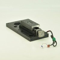 Motorized Linear Stage w/Base Plate Motorized Positioning