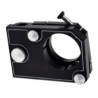 Optical Positioning Gimbal Mount w/ 2.25 Inch Diameter Opening Optical Mounts