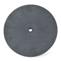 Hard Plastic Polishing Plate, 8 Inch Diameter, Patterned Bottom Polishers & Grinders