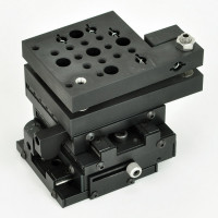 Unbranded - XY Theta Axis | XY Theta Axis Linear Stage, 3x3x3.3in