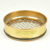 "W.S. Tyler Testing Sieve, 200mm Diameter, 12.5mm/1/2"" Brass Sieves"
